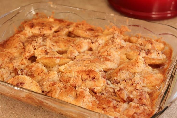 Another version of Fresh Apple Dump Cake | recipes | Pinterest