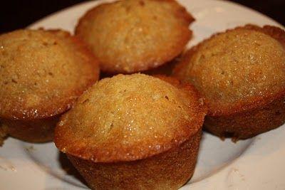 My Sister's Kitchen: Orange Mini Muffins with Brown Sugar Glaze