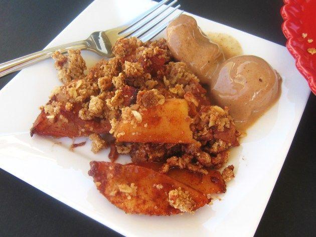 Apple Cinnamon Pecan Crisp | food | Pinterest