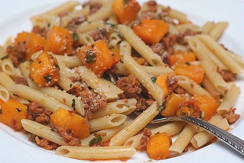 Butternut Squash and Italian Sausage   Food to Try   Pinterest
