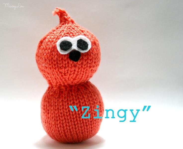 Free Knitting Pattern For Zingy : Free toy knitting patterns pinterest crafts