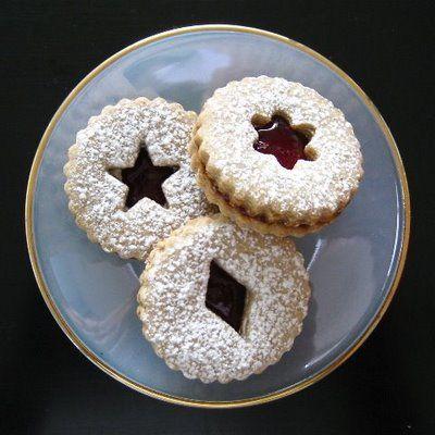 Linzer Sables | December merriment | Pinterest