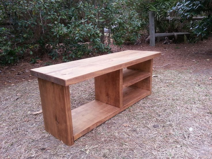Rustic Wood Bench Shoe Rack Bench And Boot Storage Boot Cubby Bench