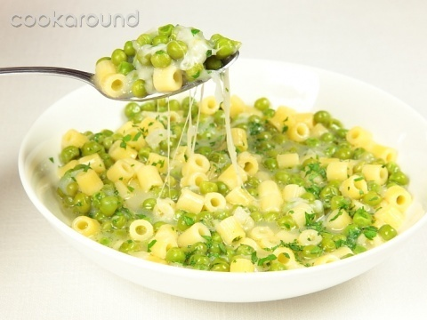 Pasta With Peas Smoked Almonds And Dill Recipes — Dishmaps