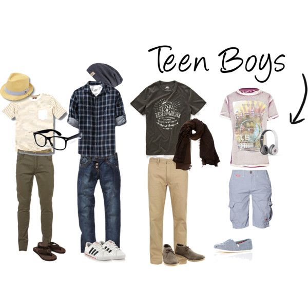 Casual summer clothes for teenage