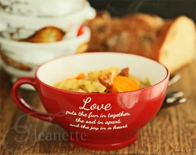 Rustic Cabbage Vegetable Soup Recipe - Jeanette's Healthy Living ...