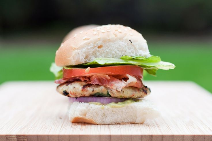 Guacamole & Bacon Turkey Sliders