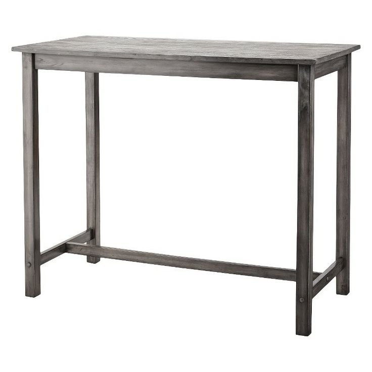 Counter Height Entry Table : Pub Table -- Tall table for the entry way!!