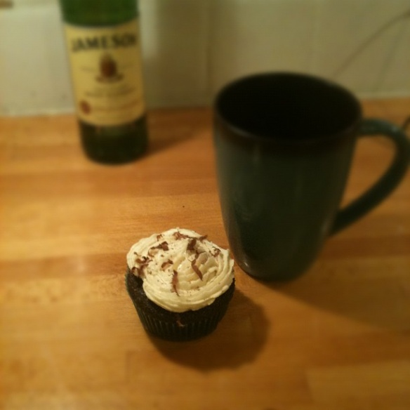 chocolate whisky and beer cupcakes | Strange Brew | Pinterest