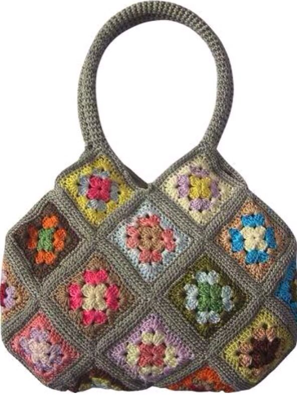 Granny Square Bag : Granny Square Bag Crochet The Day Away... Pinterest