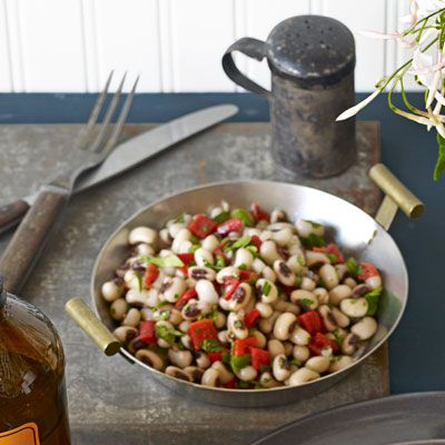 Black-Eyed-Pea Salad Recipe - Delish.com Jalapeño adds a kick to this ...