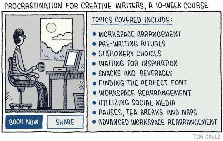 Writing procrastination