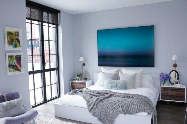 light blue gray bedrooms pinterest