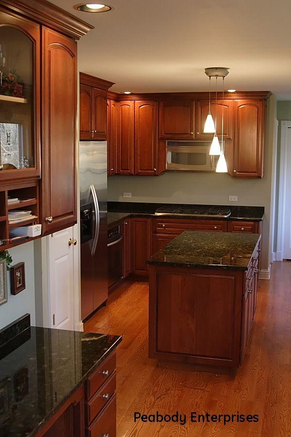 Custom Cherry Wood Kitchen For The Home Pinterest