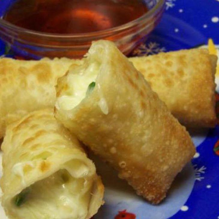 Jalapeno Popper Wonton Puffs Recipe | -Food- | Pinterest