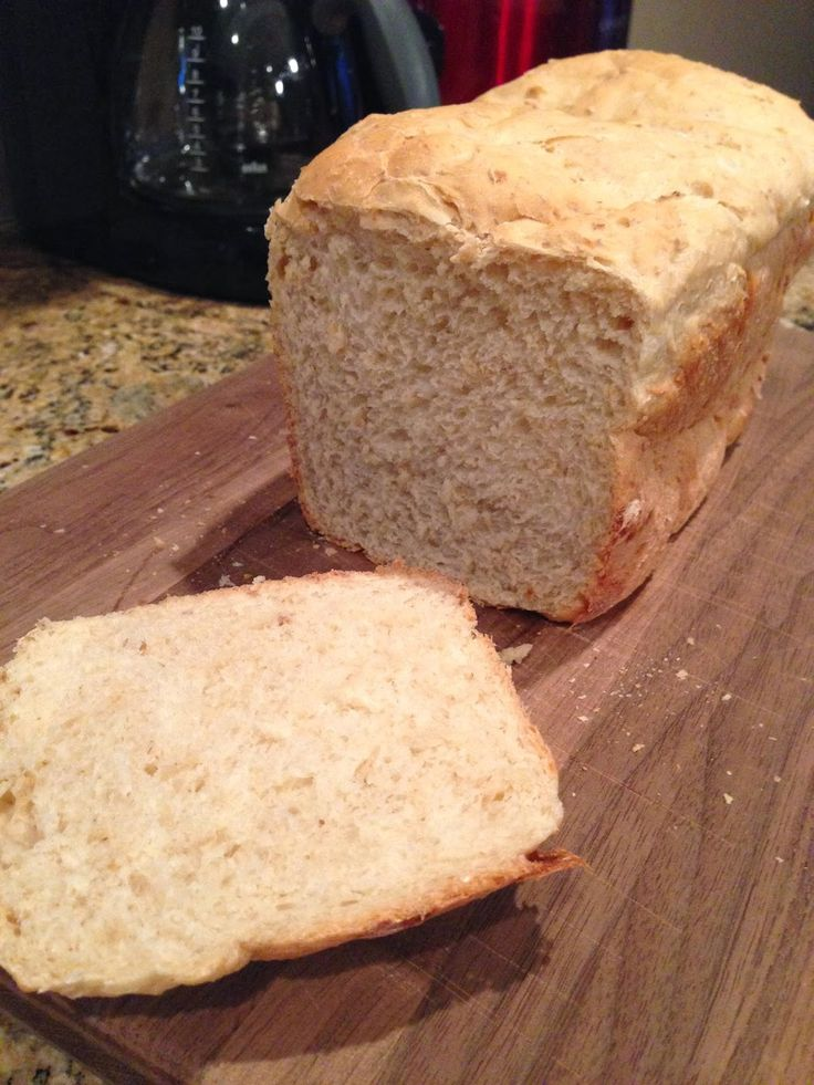 Honey Oatmeal Bread (bread machine) | Bread Machine | Pinterest