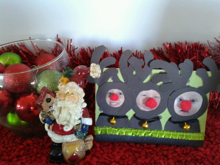 Reindeer Christmas Card | i {heart} christmas | Pinterest: pinterest.com/pin/365917538443624602