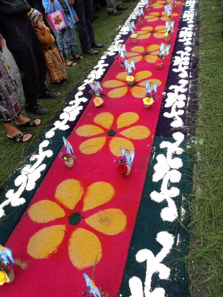 Pin by municipalidad de patz n on alfombras de colores en - Alfombras de colores ...