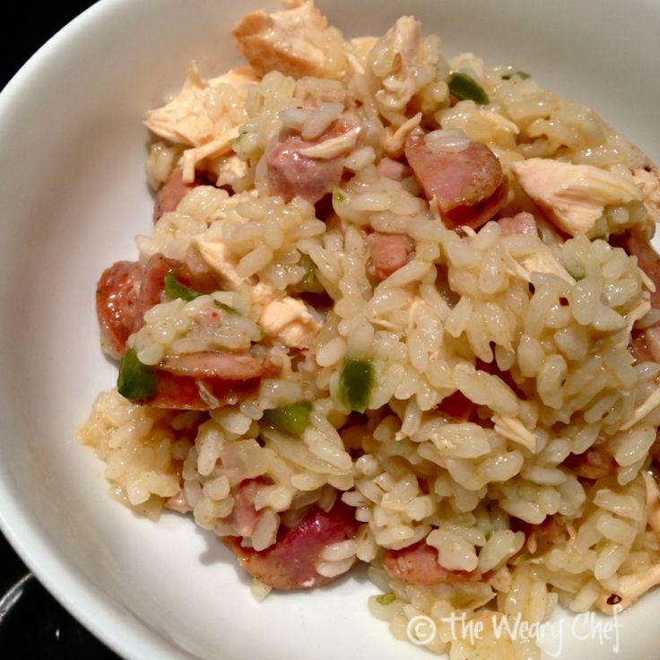 Easy Cajun Jambalaya - A versatile one-dish dinner | wearychef.com