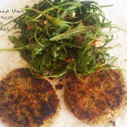 Mung Bean & Red Lentil Burger | Healthy Food | Pinterest