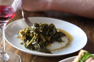 Grits and greens | Yummy! | Pinterest
