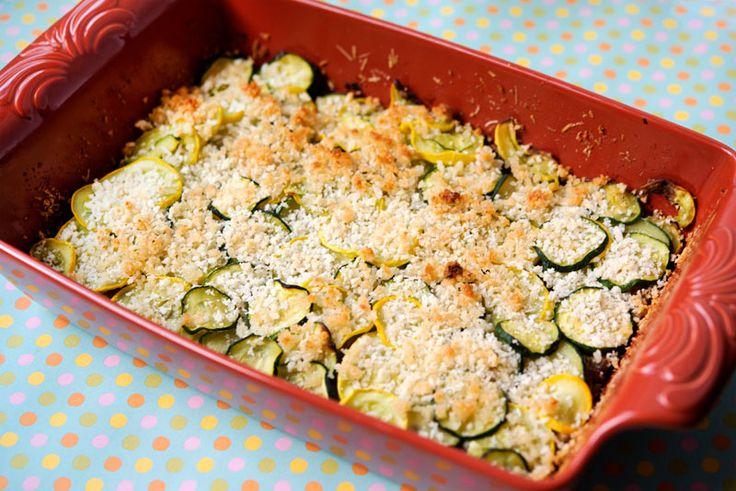 Summer Squash + Zucchini Gratin | Xx Entree Sidekicks xX | Pinterest