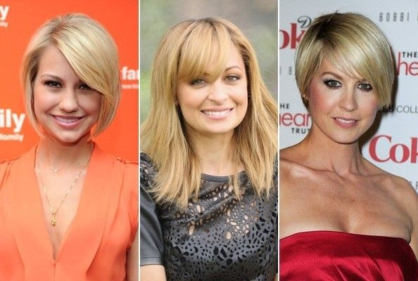 Hairstyles for Pear Face Shapes: To balance the features of a pear ...
