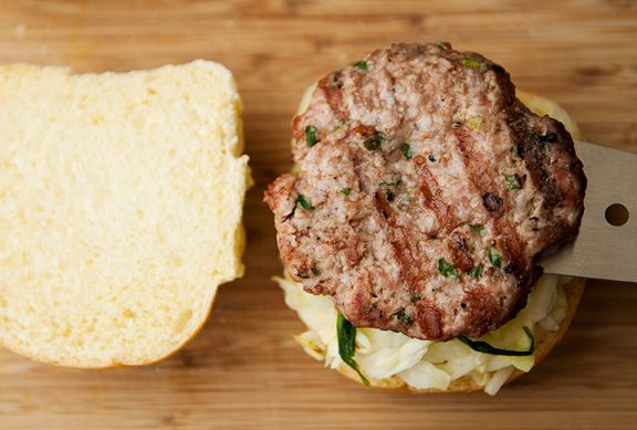 mushu pork burger recipe | use real butter