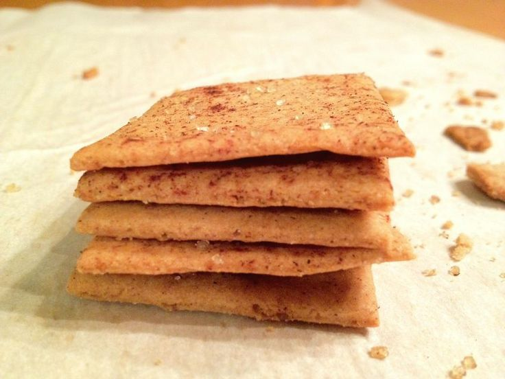 Stacked Gluten Free Graham Crackers | Whole Foods Recipes | Pinterest
