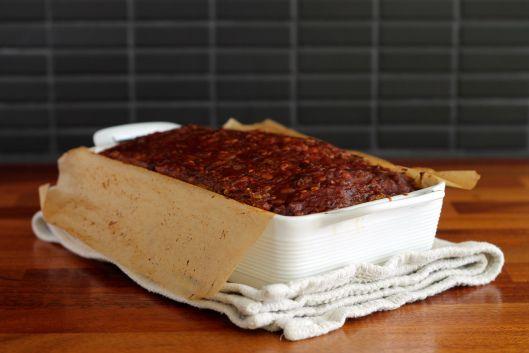 Lentil Loaf // The Muffin Myth | Vegetarian | Pinterest