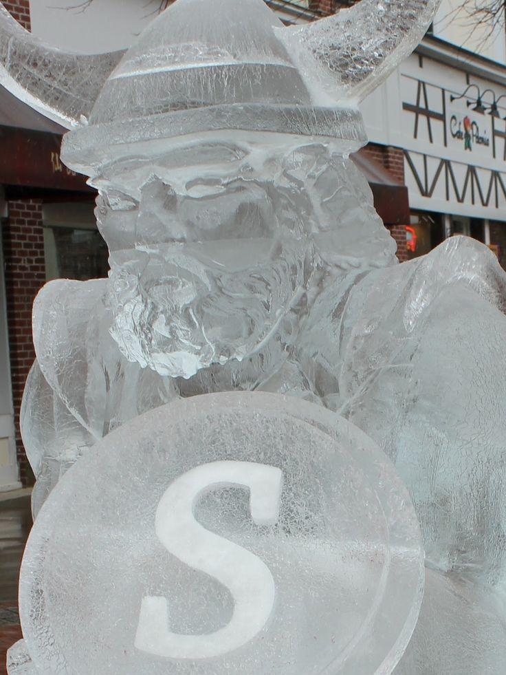 Vikings Ice Sculpture
