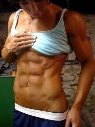I want Abs just like Dana Linn Bailey... So Sexy <3