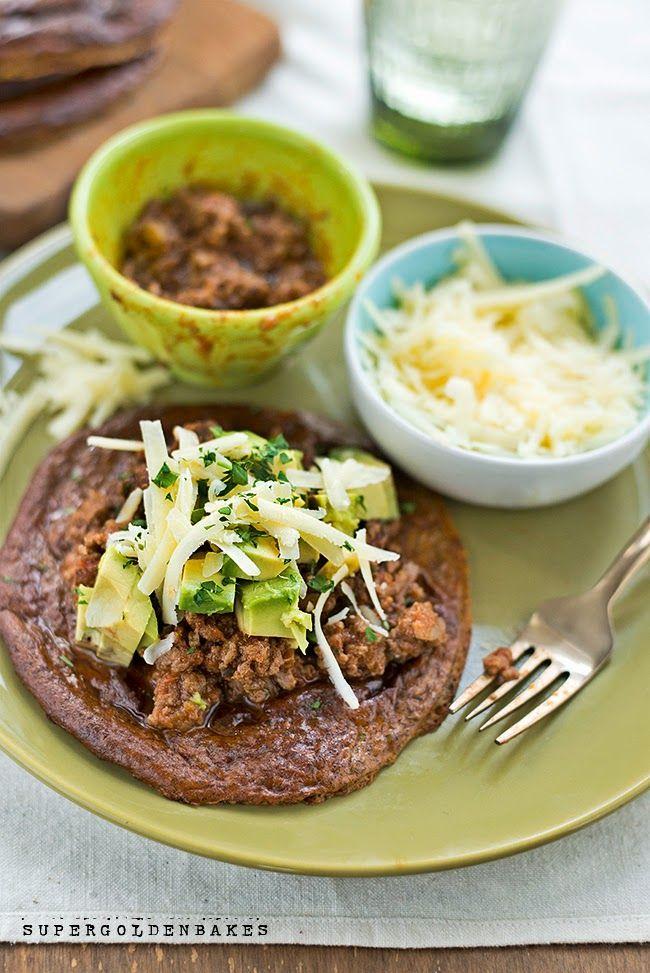 Skinny sloppy joes on Paleo plantain tortillas | supergolden bakes ...