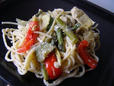 veggie alfredo | Recipes | Pinterest