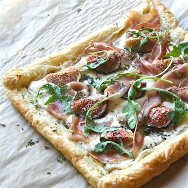 Fig, Ricotta, and Honey Tart | Recipe