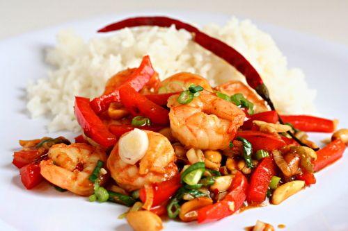 kung pao shrimp | Good to Eat | Pinterest