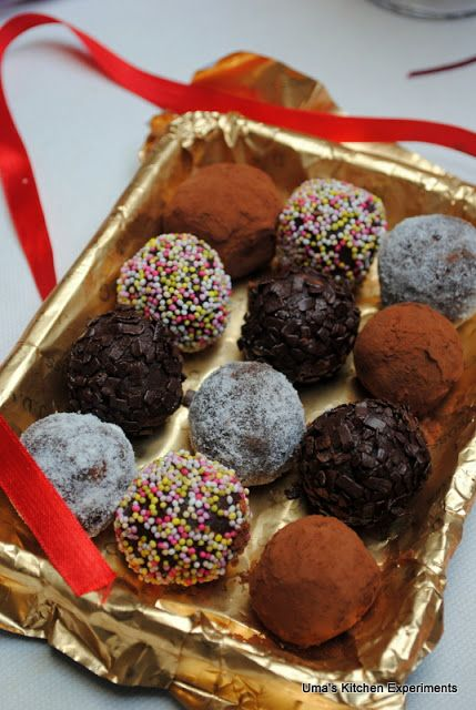 Chocolate Truffles ~ My Kitchen Experiments