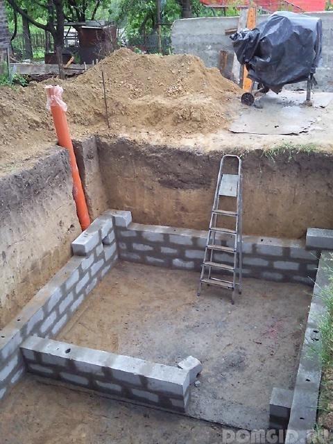 Овощная яма из кирпича своими руками 60
