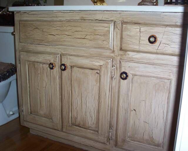 Crackle Paint On Kitchen Cabinets - Nagpurentrepreneurs