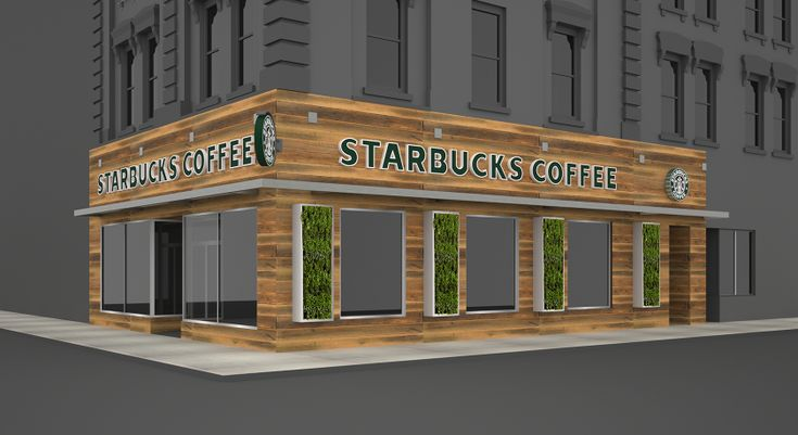 Modern london starbucks storefront design downtown architecture pinterest - Facade local commercial ...