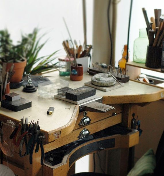 Antique Jewelers Bench Images Frompo 1