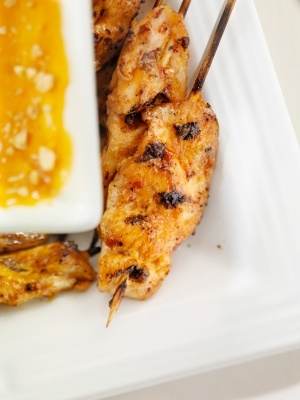 15 better-than-take-out recipes | honey mustard chicken skewers