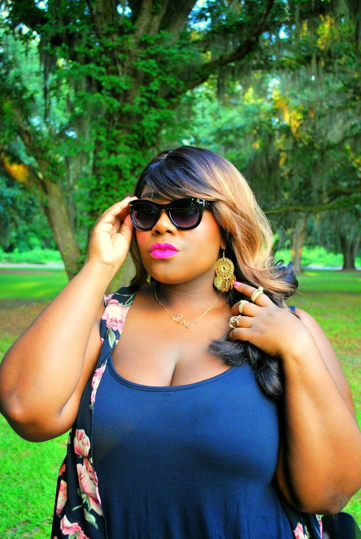 Musings of a Curvy Lady wearing Deb Shops sunnies