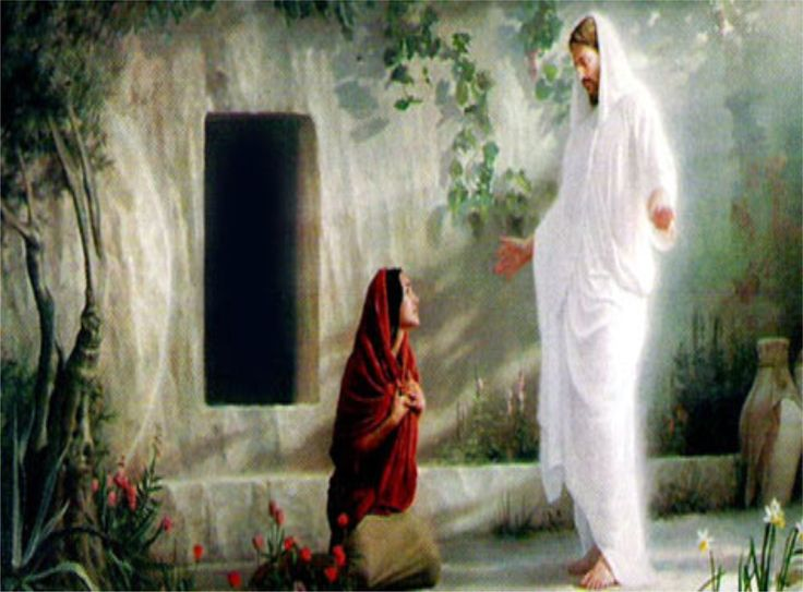 mary magdalene meet jesus at the time ressurrection