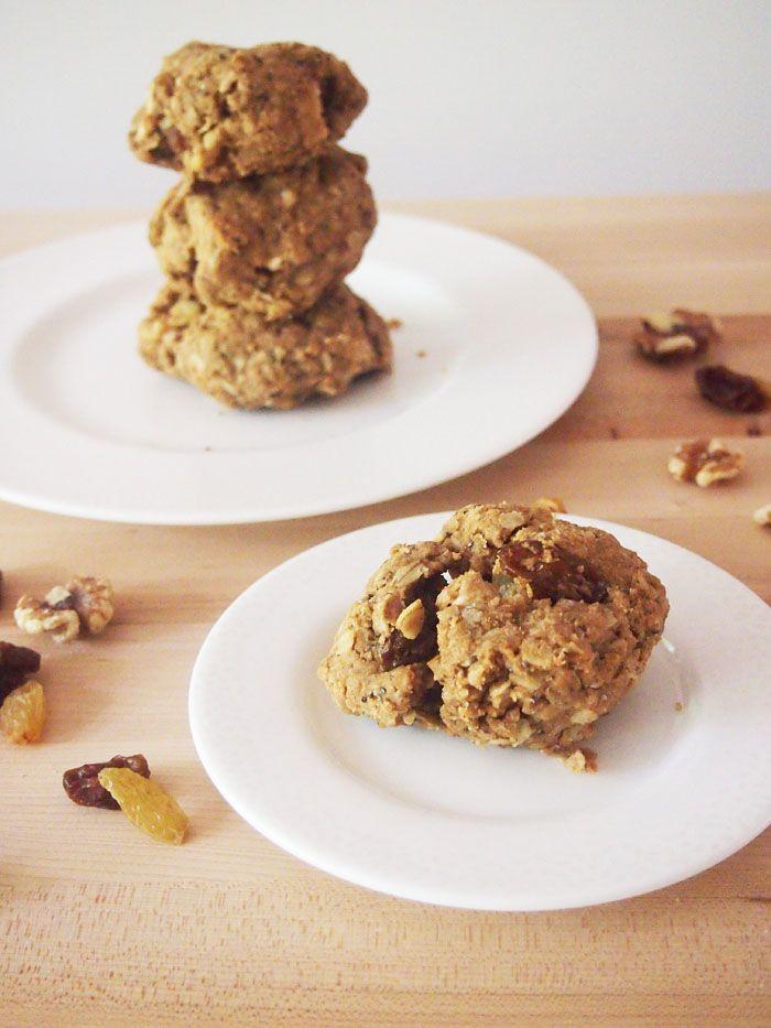 Apple Peanut Butter Breakfast Cookies #SundaySupper | Recipe