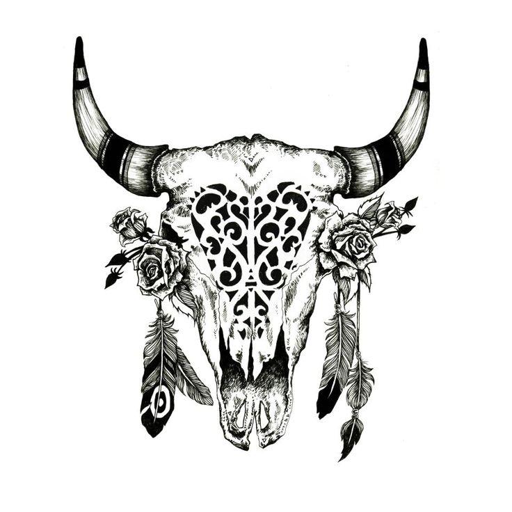 Что обозначает татуировка черепа животного