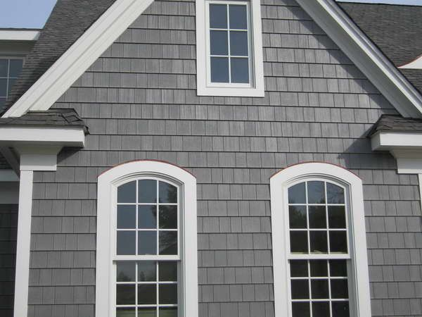 Best Shake Shingles And White Trim For The Home Pinterest 400 x 300