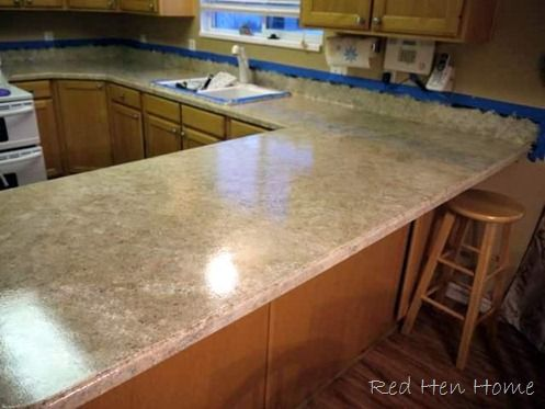 Countertop Finish Options : Remodelaholic Countertop Makeover With Giani Granite Paint ...