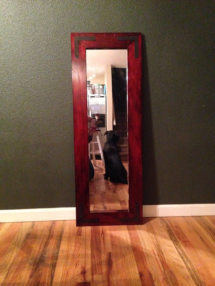 Diy 20 rustic mirror frame wood craft ideas pinterest for Homemade mirror frame ideas