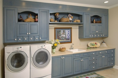 Cabinets Above Washer Dryer My Laundry Room Pinterest